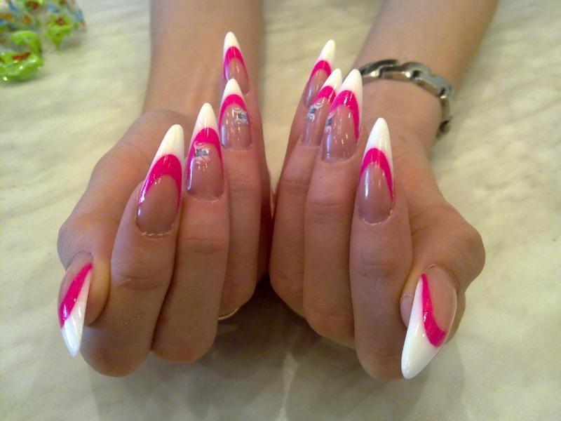Дизайн острых ногтей: какой лучше выбрать дизайн - фото irLady.Ru.
